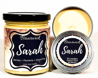 Sarah Candle- Labyrinth Inspired- Soy Vegan Candle