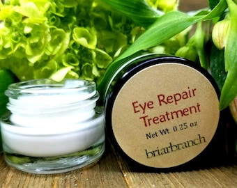 Eye Repair Treatment [EMPRESS] 0.25 oz by Briarbranch - Natural Skincare, Dry Skin, Facial Skincare, Anti Aging, Anti Wrinkle, Crows Feet