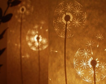 Dandelion Clocks Lamp