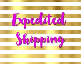 USPS Express 1-2 day shipping ( depends on zip code)