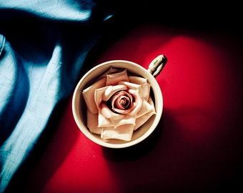 10x15 Rose Tea print