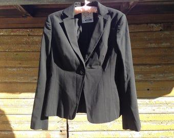 MOSCHINO Cheap And Chic Women Vintage Blazer Black Wool