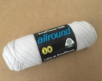"""Schaffhauser Wolle  """"allround"""" 100% Pure Virgin Wool (Lot of 7 skeins)"""
