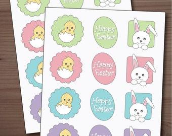 Printable Easter Tags
