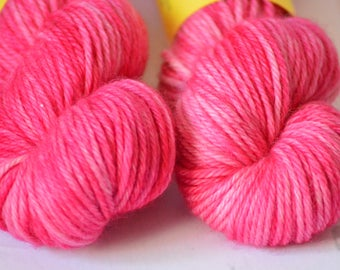 Hand dyed yarn - Bulky weight - Vibrance