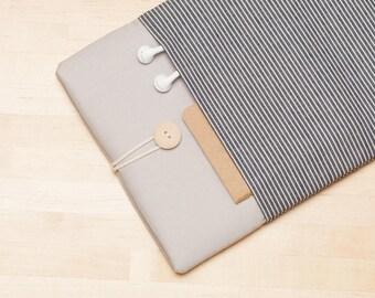 Macbook case 12 inch / MacBook 12 inch sleeve, Custom laptop sleeve, Lenovo yoga - Railroad ash