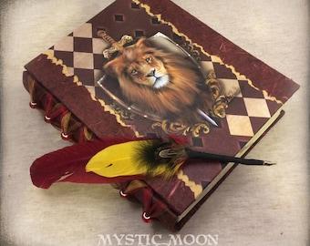 Bravery / Harry Gift Art / Lion /Nerd Gifts / Nerdy /Chosen One / Wizard / Witch / Magic / Magical / Wizardry / Harry Journal