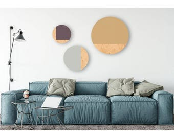 Circle Wall Art, Circle Print, Geometric Decor, Circle Art, Circle Wall Decor, Circle Art Print,Nordic Style, Geometric Decor, Wall Decor