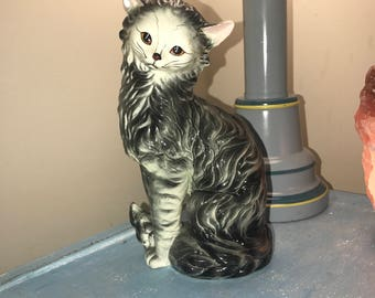 Vintage Cat Statue , 10 inches