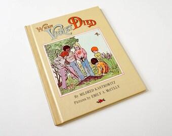 Vintage 1970s Childrens Book / When Violet Died by Mildred Kantrowitz 1973 VGC Hc
