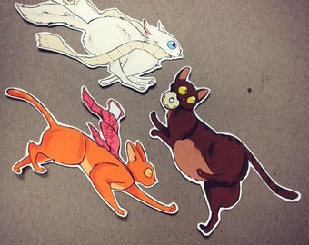 My Cats Are Jerks Sticker Pack