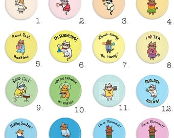 Free Shipping Pick Your Own Magnet Set of 10 Choose your Design