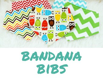Pick any 5 Baby Bandana Bibs - Set of 5 baby bibs, bibdana boy, bibdana, baby shower gift, bandana bib boy, bandana bib girl