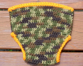 Camo Diaper Cover, Camoflauge Cover, Baby Diaper Cover, Camo Crochet, Infant Diaper Cover, Diaper Cover Boy, Diaper Cover Girl, Baby Stuff