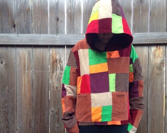 Colors of fall hoodie