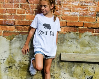Bear Cub - Custom Graphic Youth Tshirt