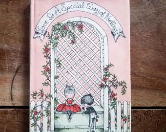 1960 Love is a Special Way of Feeling by Joan Walsh Anglund, First Edition, Signed, Rare Books, Vintage Books