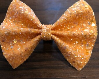 Orange Sherbet Bow