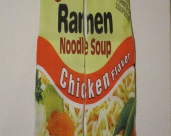 ramen noodle socks chicken flavor buy any 3 pairs get the 4th pair free