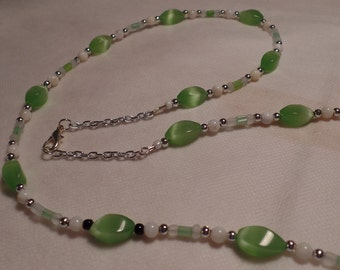 "31"" Green Necklace"