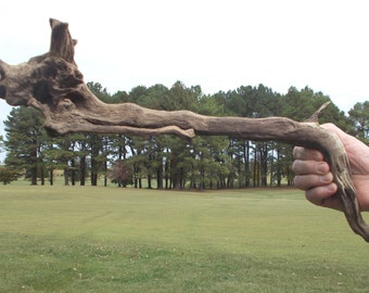 """22"""" x 7"""" x 4"""", Freshwater Driftwood from the Tennessee River"""