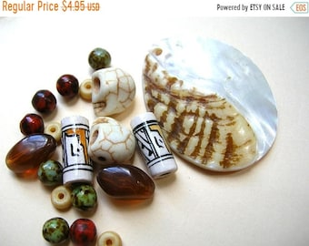 Clearance Sale Bohemian Necklace Kit - DIY - Do it Yourself - Craft Kit