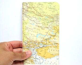 Teacher's Gift, Holiday Notebook, Bullet Journal, 2018 Organiser, Blank Planner, Map Diary, Travel Journal, Gifts for Writers, Gift for Men