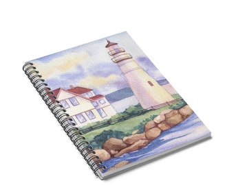 Calming Seas Spiral Notebook