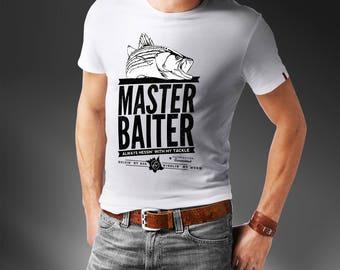 Master Baiter Fishing T-Shirt - Funny T-Shirt