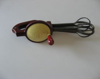 Bakelite-beater or mixer, made in Germany, Sixties.