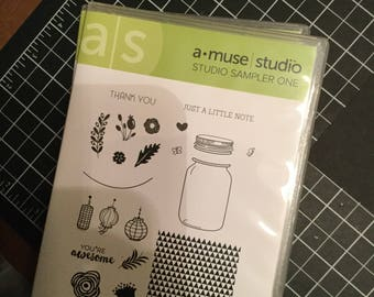 DESTASH - Amuse Stamp Set - Sampler One
