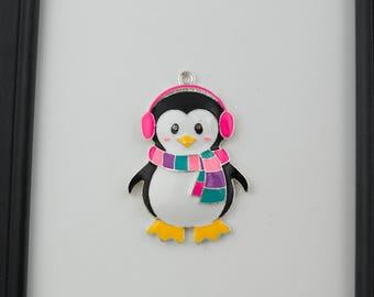 Girl Penguin Needleminder / Pink Penguin Needle Minder