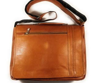 Spring Hill Messenger Bag Briefcase, brown