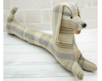Daisy the Draught Excluder Dog pdf pattern instant download