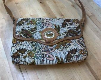 Handbag / vintage purse / midcentury bag