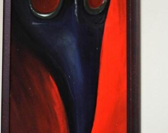 Plague Mask (framed original)