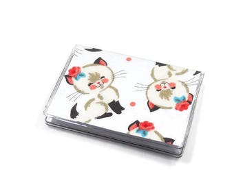 Card Case Mini Wallet Cutie Cats