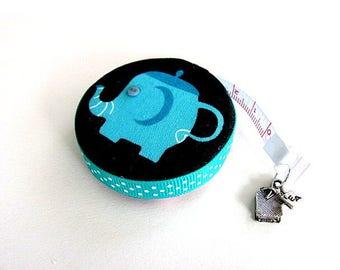 Measuring Tape Elephant Tea Pots Pocket Retractable Tape Measure