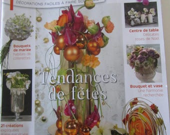 "Magazine ""Atelier Floral"" number 36 - November/December/January 2015 - 21 pieces"