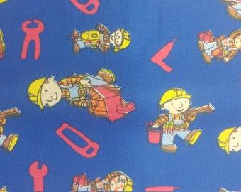 Bob the builder fabric