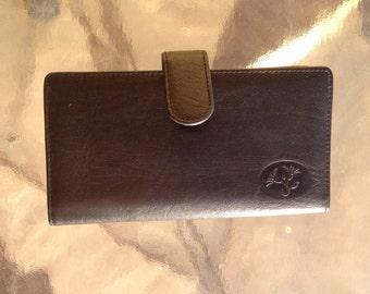 Buxton Wallet, Ladies Wallet, buxton pocket book, genuine leather wallet, cowhide leather wallet, black leather wallet, genuine leather bill