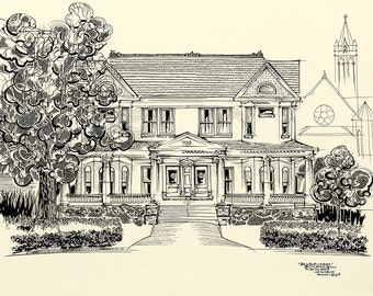 Lost-N-Found House (print on paper)