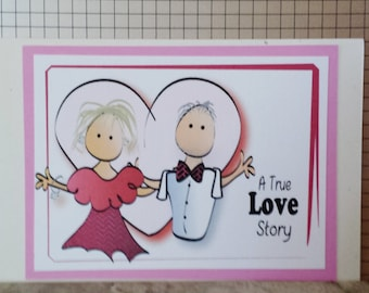 Anniversary card for couple etsy