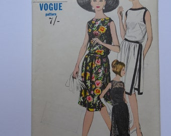Vintage Vogue Dress Pattern 6190 Size 12 Bust 32