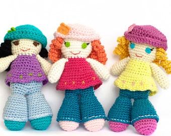 Amigurumi Schemi Italiano Gratis : Crochet amigurumi patterns sweet toys & dolls by amichy on etsy