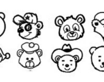 Bear Car Decal, Bear Decal, Bear Paw Decal, Grizzly Bear Decal, Polar Bear Decal, Black Bear Decal, Hunting Decal, Bear Hunting Decal