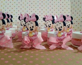 Baby Minnie Mouse Baby Shower Party Favors, Baby Shower Favors