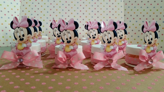 Baby Minnie Mouse Baby Shower Party Favors Baby Shower Favors