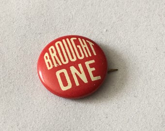 Brought One Vintage Sunday School Pin Made In USA By Broadman Supplies