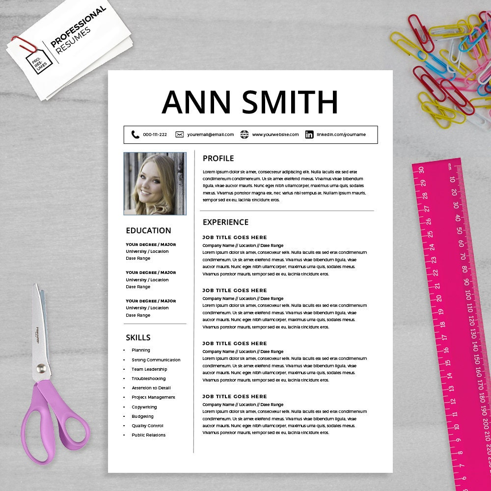 Curriculum Vitae Template Cv Template Cover Letter Ms